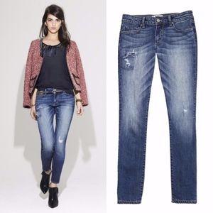 Paige Skyline Ankle Skinny Jean Size 27